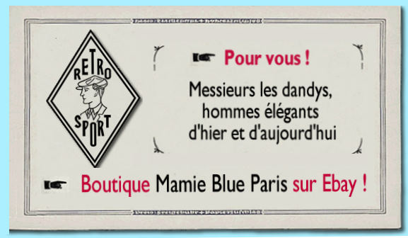 Mamie Blue PAris sur Ebay